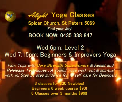 Yoga Spicer Church St. Peters Adelaide