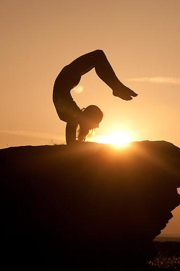 sun set yoga