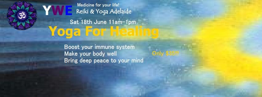 Yoga for Healing workshop Adelaide