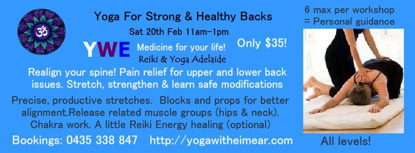 Yoga for backs Adelaide, Yoga for back-pain Adelaide