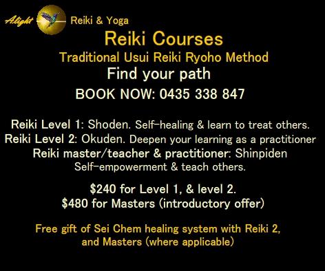Reiki Courses Adelaide. Reiki 1, Reiki 2, Reiki Masters